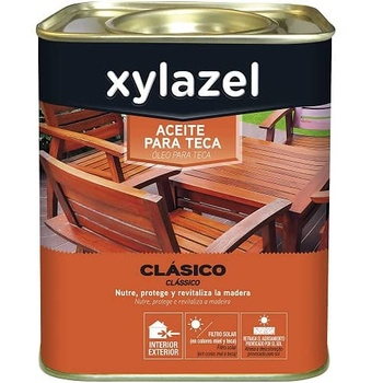 Aceite para teca miel Xylazel 750 ml Teca