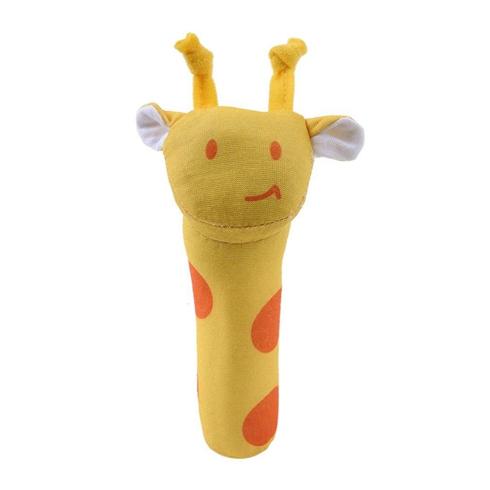 Bb Stick Baby Toy Plush Hand Rattle Bb Stick Animal Bb Stick Hand Rattle Baby Hand Fleece Rattle Cartoon