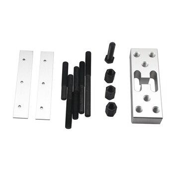 Universal Hydraulic Press Support Block Plate 30T Bearing Bushing Car Repair Kit