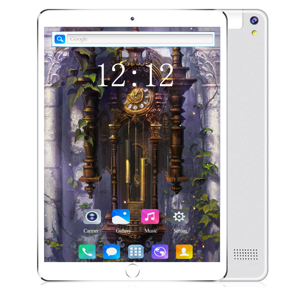 New Android 8.0 Android Tablet 10.1 Inch 10 Core 6GB RAM 128GB ROM 3G 4G LTE 1920 1200 IPS 5MP+ 2.0MP The Tablet 10 Kids Tablet