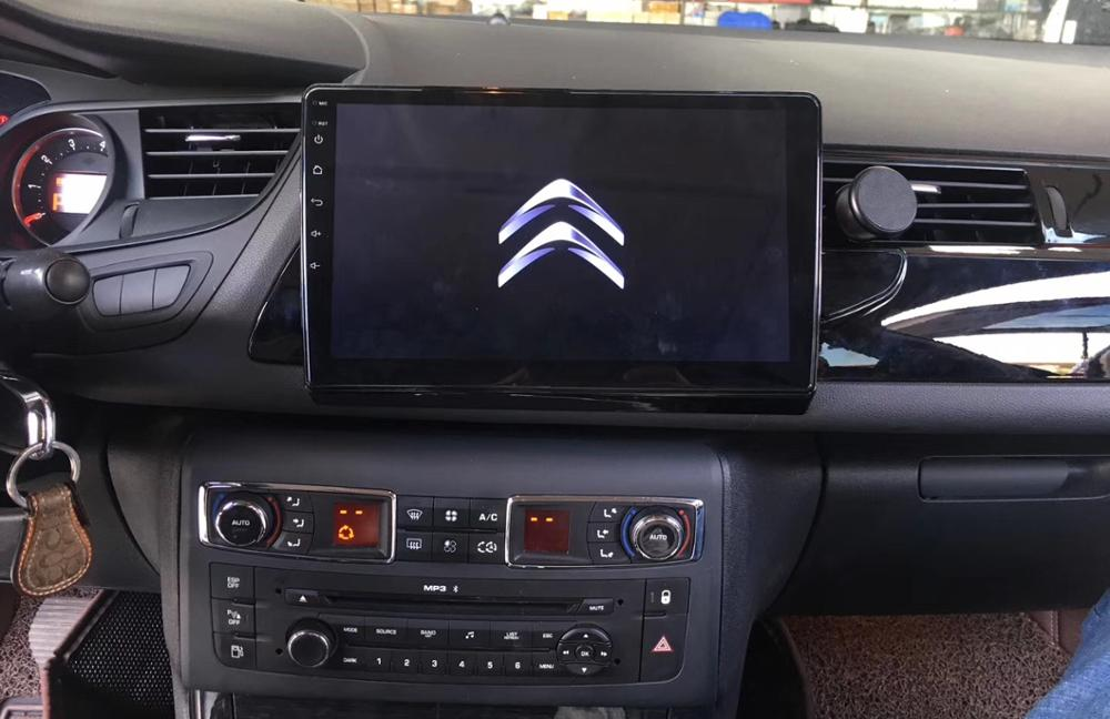 10inch Car Multimedia Player Quad Core Android 8.0 Car Radio GPS Navigation ForCitroen C5 Year 2008-2015