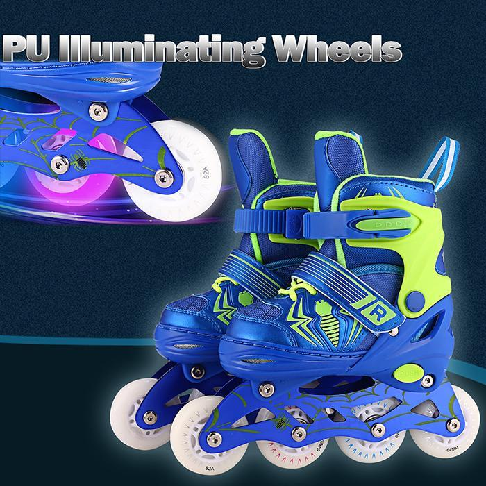 4-Wheel Skates Speed  Shoes Hockey Roller Sneakers Rollers Women Men Roller Skates For Child Skates Inline Profess