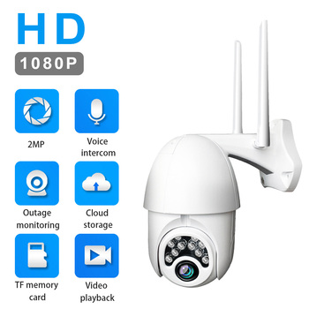 Home Security 1080P Wireless IP Camera with HD IR Night Vision  CCTV Surveillance Camera WiFi Camera P2P Baby Monitor Pet Camera daytech 720p hd wireless wifi ip camera home security surveillance camera ir night vision cctv indoor camera wi fi baby monitor