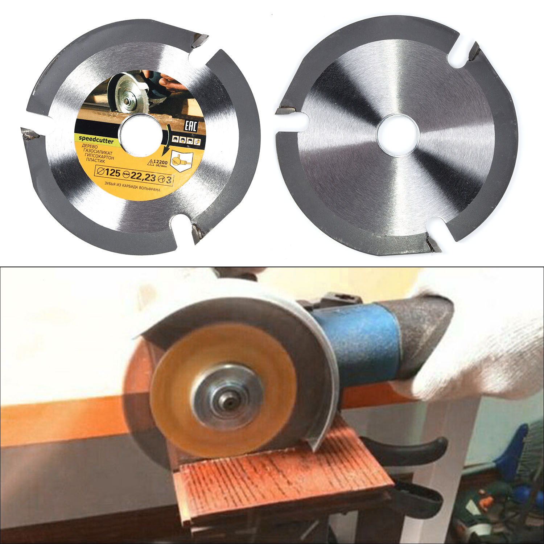 125mm 3 Teeth Circular Multitool Grinder Saw Disc Wood Cutting Disc Wheel Tools