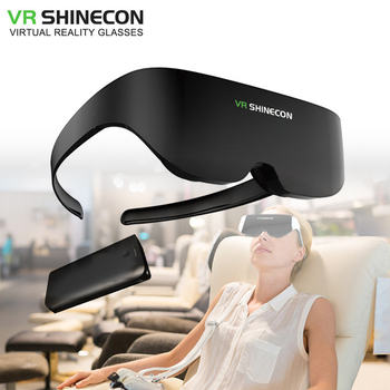Shinecon VR Headset AI08 Giant Screen Same Screen Stereo Cinema 3D Glasses Pro Virtual Reality VR For iPhone Android Smartphone 1