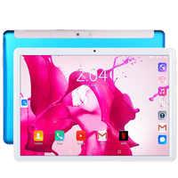 BDF Neue Tablet Pc 10,1 zoll Android 7,0 Tabletten 3G Anruf Google Pc Tablet WiFi GPS Google Play 10 zoll 2,5 D Gehärtetem Glas