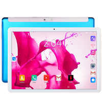 BDF New Tablet Pc 10.1 inch Android 7.0 Tablets 3G Phone Call Google Pc Tablet WiFi GPS Google Play 10 inch 2.5D Tempered Glass