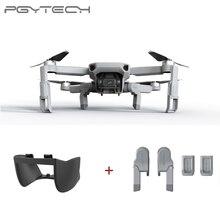 Pgytech 2 Pcs per Dji Mavic Mini Carrello di Atterraggio di Estensione + Giunto Cardanico Lens Hood