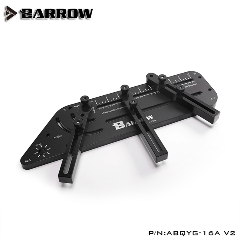 Barrow ABQYG-16A-V2 Multi-angle Acrylic / PMMA /PETG Rigid Hard Tube Bending Mould Computer Water Cooling