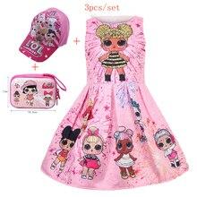 Kids Girls Lol Princess Dress Cute Elegant Children Clothes