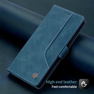 Image 2 - Lật Bao Da Dành Cho Samsung Galaxy Samsung Galaxy Note 20 Cực Note 10 9 Plus Từ Kinh Doanh Ví 4 Ngăn Đựng Thẻ chân Đế Điện Thoại Bao