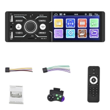 4.1 Polegada hd carro bluetooth imprensa mp5 player de voz inteligente multi-idioma fm am usb