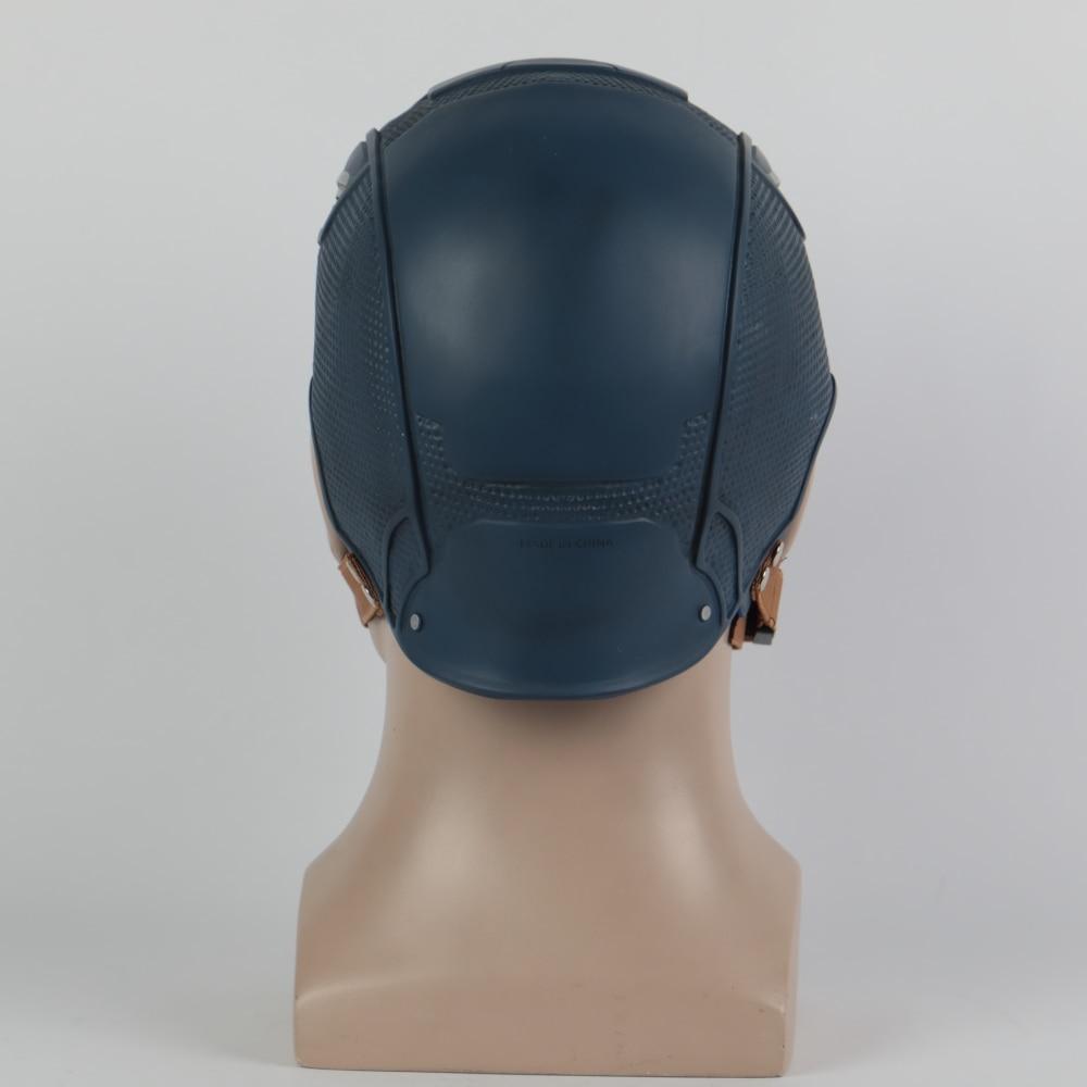 Cosplay Captain America 3 Mask Avengers Civil War Mask Halloween Helmet Latex Mask Cosplay Costume