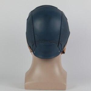 Image 5 - Cosplay Captain Mask America Civil War Mask Halloween Helmet Latex Mask Cosplay Costume
