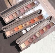 NOVO New Beauty 10 Colors Belonging Shimmer Matte Eyeshadow Palette Eye Shadow M