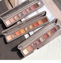 Novo beleza nova 10 cores pertencente shimmer fosco paleta sombra de olho maquiagem à prova dwaterproof água