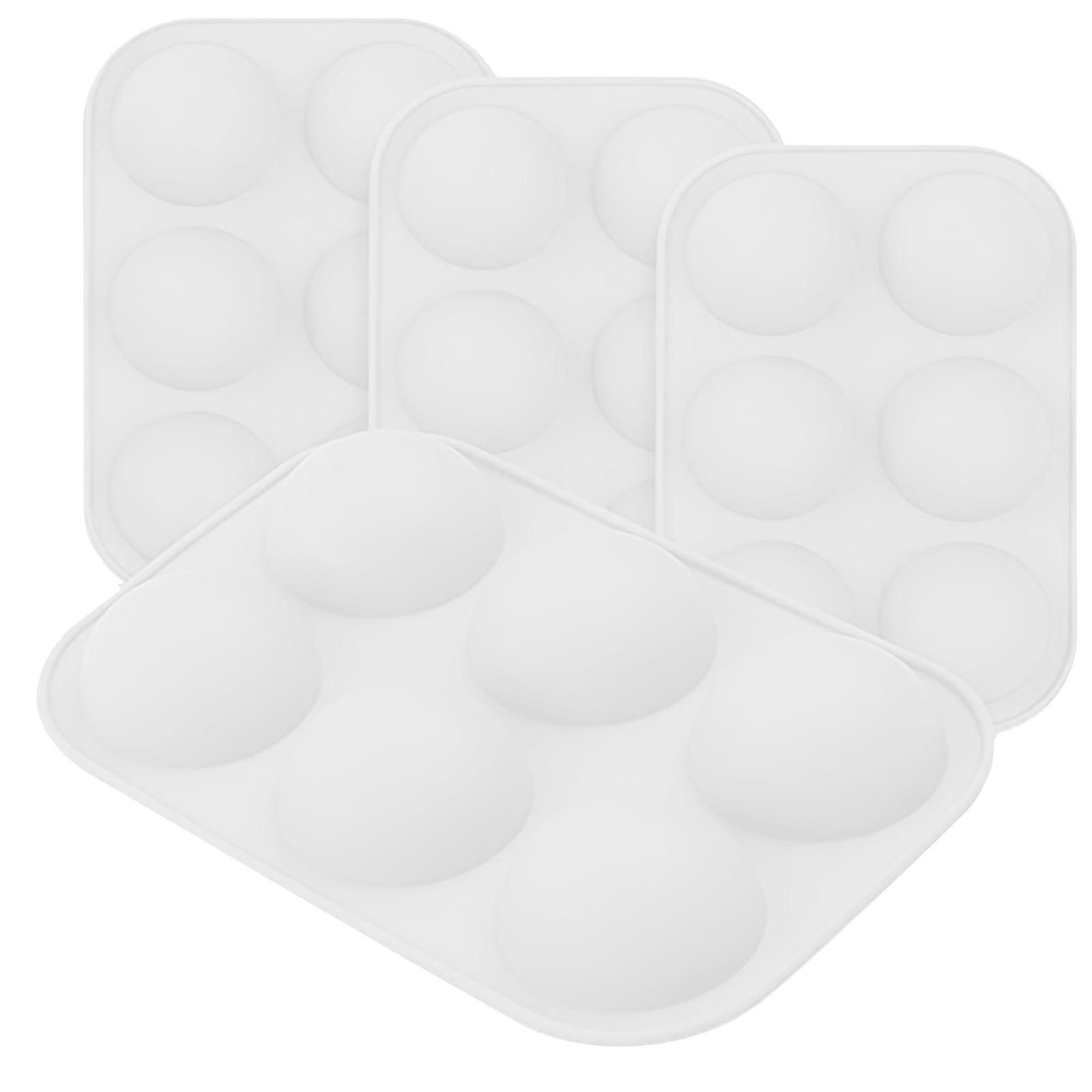 Средняя полусферическая силиконовая форма, форма для выпечки для изготовления шоколада, тортов, желе, купола M ^ пресс-форма инструменты для ...