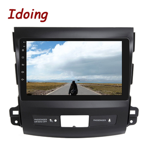 """Image 5 - Idoing 9""""4G+64G 2.5D IPS 8 Core Car auto Android Radio Multimedia Player For Mitsubishi Outlander 2006 2012 DSP GPS Navigation"""