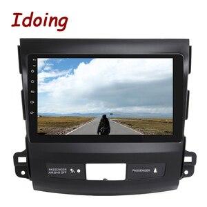 """Image 5 - Idoing 9 """"4G + 64G 2.5D IPS 8 rdzeń samochodowy auto Android Radio odtwarzacz multimedialny dla Mitsubishi Outlander 2006 2012 DSP nawigacja GPS"""
