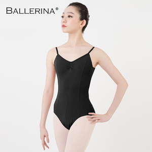Image 5 - Balletto Body Backless Delle Donne Della Ragazza di Balletto Per Adulti Ginnastica Body Body Abiti Da Ballo Ballerina 5549
