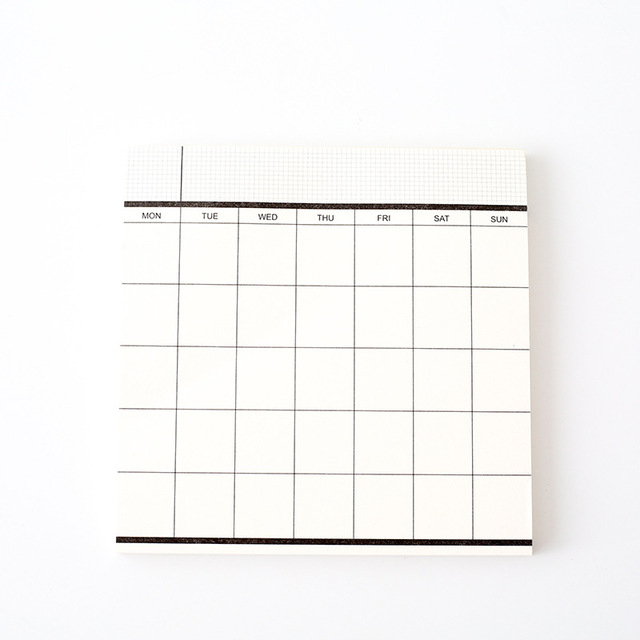Weekly Planner Daily Small Notebook Diary Journal Cuadernos Y Libretas Stationery School Notepad Back To School Mini 2020 5