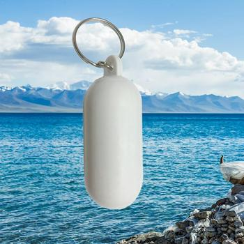 New Kayak Floating Keyring Fender Buoyant Key Ring Sailing Marine Boat Canal Keychain Float D8J7 image