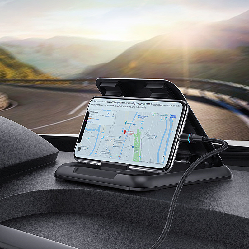 Dashboard Cell Phone Holder For Auto Adjustable Mount Holder For Mobile Phone In Car Phone Holder Stand For Mobile IPhone Xiaomi