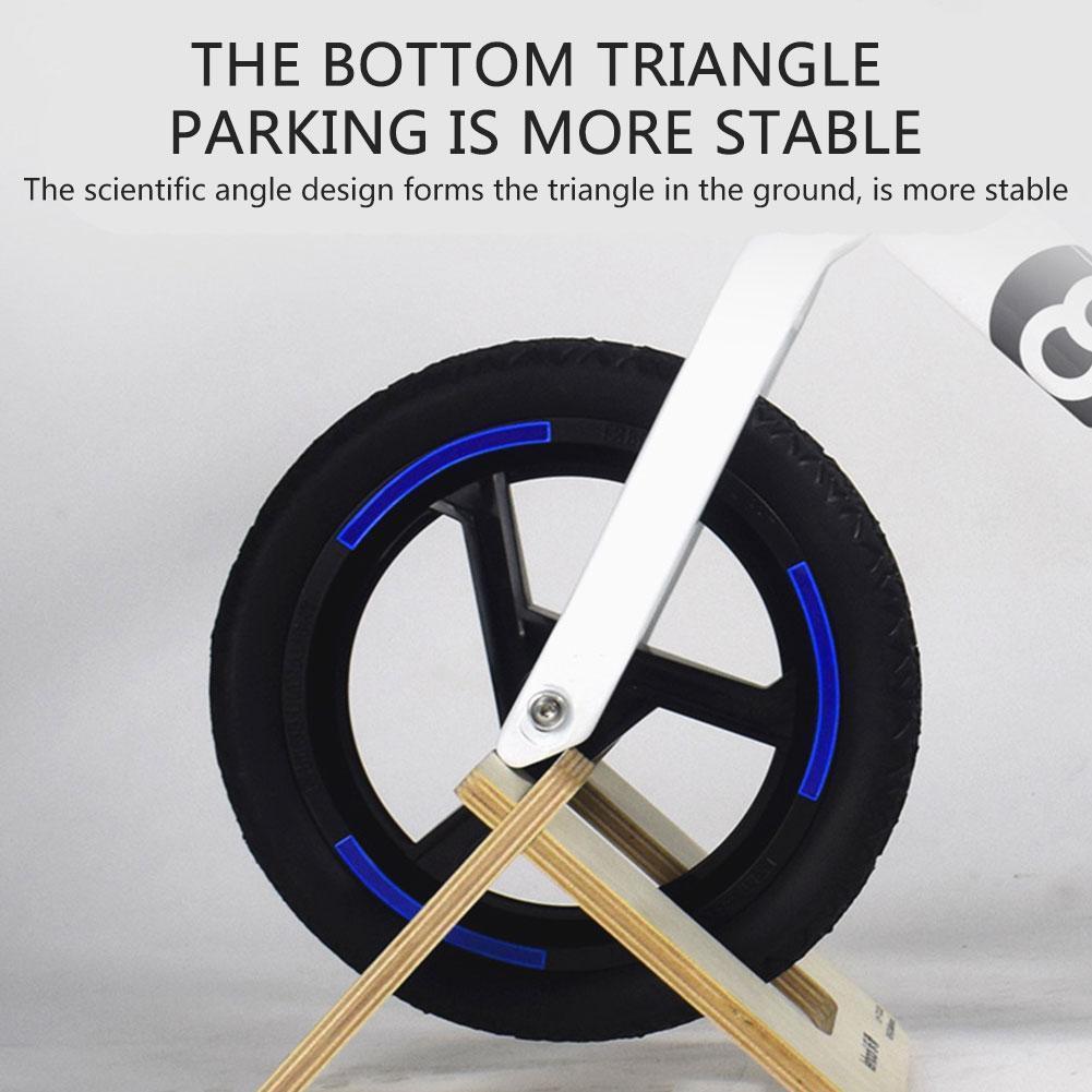 Parking rack Scooter bracket Kid's Balance Bike Stand Parking Balance Bike Kickstand ,Portable For 10