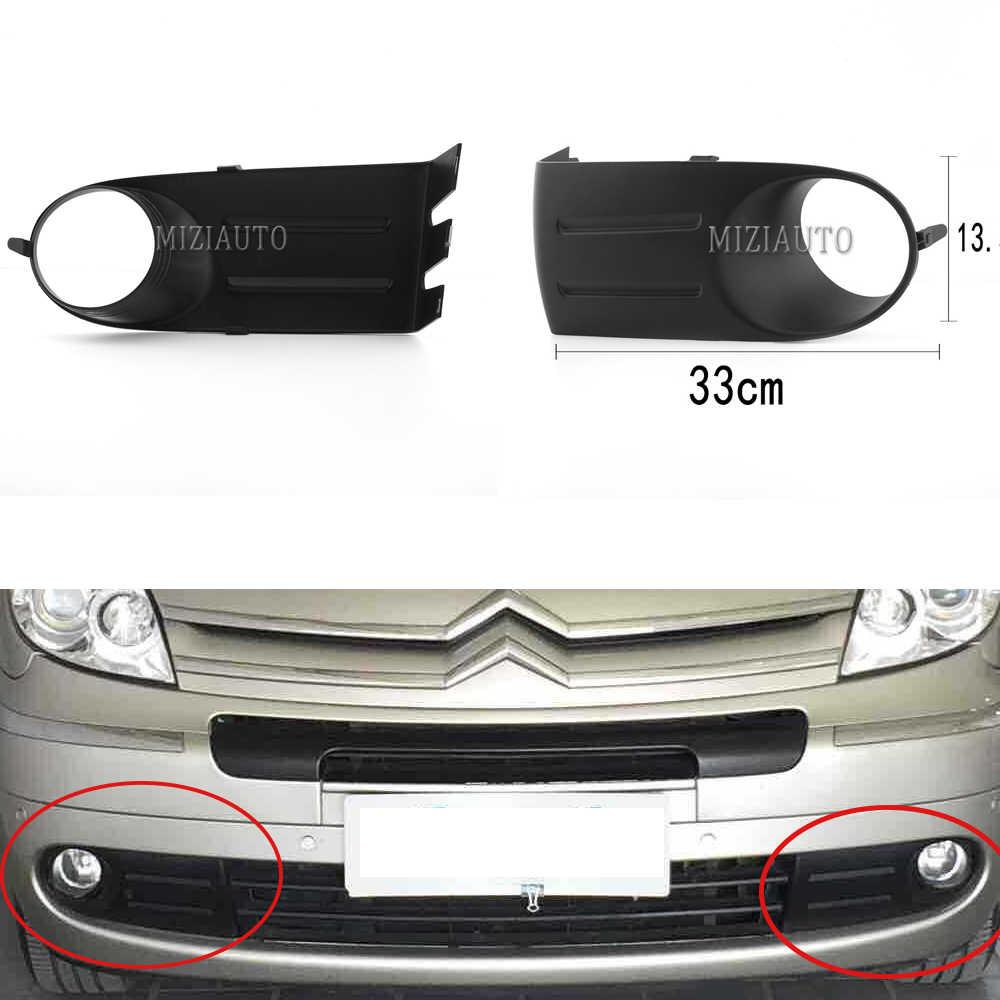 Sis aydınlatma koruması Citroen Xsara Picasso için 2007 2.0 ön tampon sis farları lamba çerçevesi sol sağ araba-styling