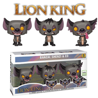 Lion King Figures 3 Pack Popular Limited Edition Hyenas Banzai Shenzi Ed Figures Lion King Toys Model Doll for Kids