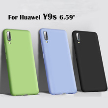 Y9 s Candy color silicone soft Case For Huawei Y9s Cover Soft Back Phone Cover For Huawei Y 9s Phone Cases y9 s candy color silicone soft case for huawei y9s cover soft back phone cover for huawei y 9s phone cases