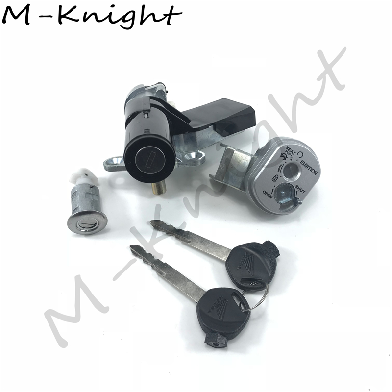 Motorcycle Accessories Ignition Switch Lock Key FOR <font><b>HONDA</b></font> DIO Z4 AF55 <font><b>AF56</b></font> AF57 AF58 AF63 ZOOMER scoopy The New Ignition lock image
