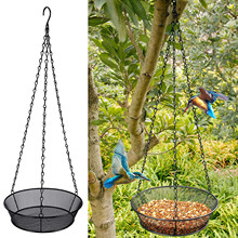 Table-Seed-Peanut Feeder-Tools Bird-Feed Detachable Hanging-Suction Clear Glass Hotel