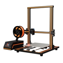 New! Anet E10 Easy Assemble 3D Printer Reprap Prusa i3 Aluminum Frame DIY 3D Printer Set Large Print Size with Filament SD Card full acrylic 3d printer frame precision anet a8 3d printer kit diy reprap prusa i3 2004 lcd display 8gb sd card filament gifts