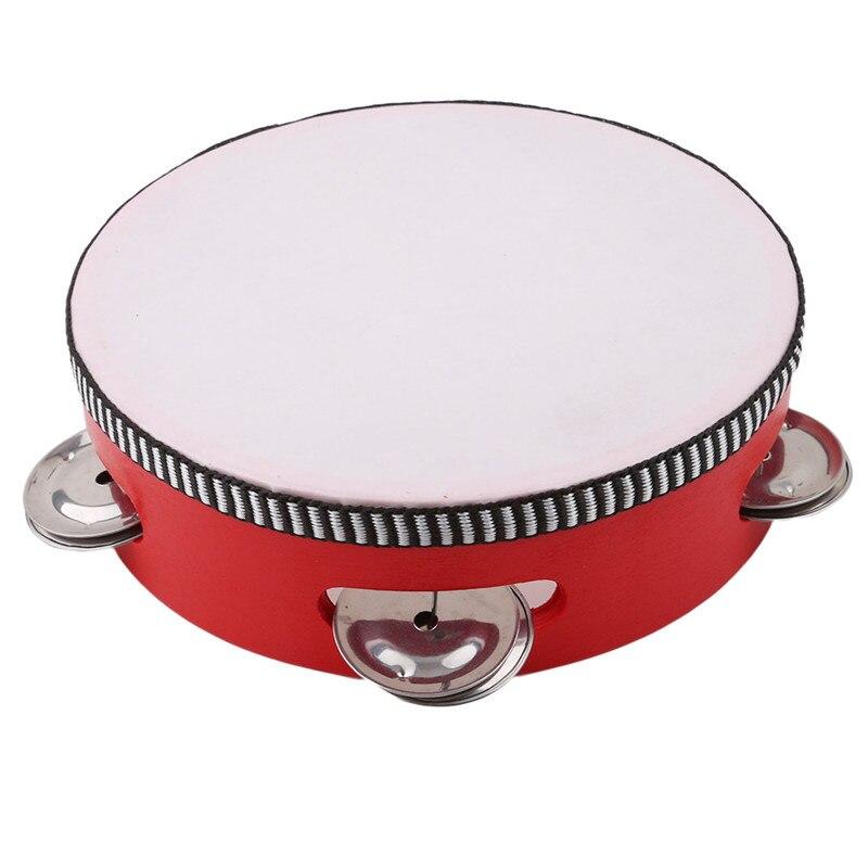 6 дюймов детский мини-барабан для детей раннего образования музыкальные инструменты, детские игрушки для мальчиков и девочек для танцев
