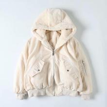 Autumn Winter Fashion New Women Thickening Basic Warm Double Faced Jack