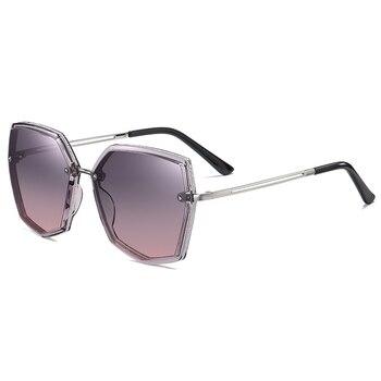 Top Quality Polarized Sunglasses Women Designer New 2021 Trend Driving Sun Glasses For Women Vintage Travel Eyewear UV400 Shades 9