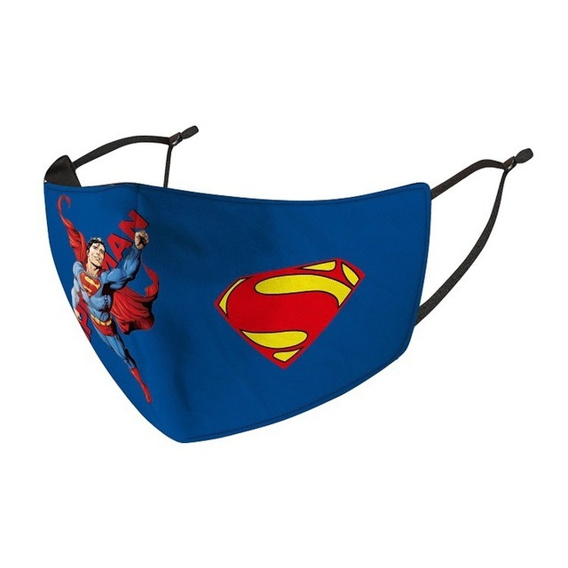 Children Superhero Mask Cosplay Superman Spider Iron Batman Man Child Kids Dust Proof Anti Fog Printing Washable Face Mask 4