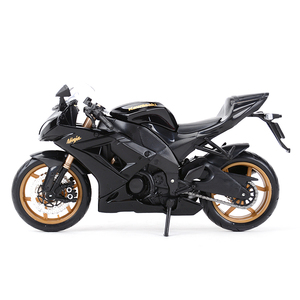Image 5 - Maisto 1:12 Kawasaki Ninja ZX 10R Black Die Cast Vehicles Collectible Hobbies Motorcycle Model Toys