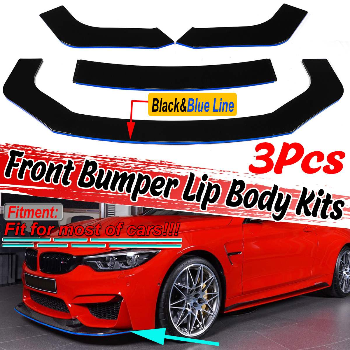 Automotive Tow Hooks MG Pro-industry Black Front & Rear Bumper ...