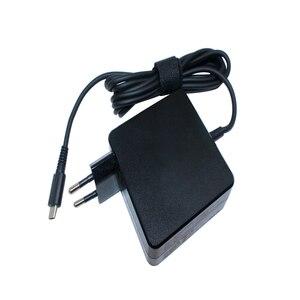 Для Asus Huawei Matebook HP DELL XPS Xiaomi Air 65 Вт 20 в 3,25 а Type C PD быстрое зарядное устройство USB C адаптер питания для ноутбука