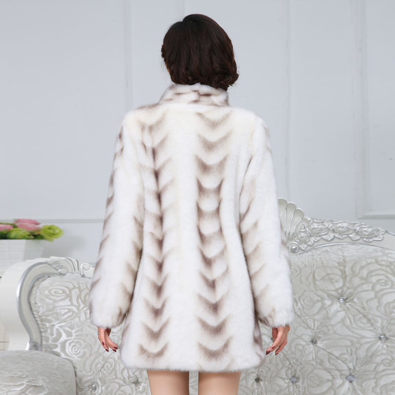 Quality Superior Real Mink Fur Coat Women 2020 New Winter Full Sleeve Thicken Warm Long Genuine Natural Fur Coats Plus Size 5XL
