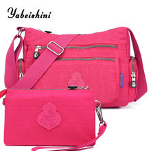 купить nylon cloth women's shoulder bag Composite Bag Messenger Bags women bags designe Crossbody bag Clutch sac a main handbags New по цене 1039.49 рублей