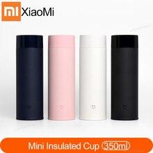 Xiaomi Mijia 350 мл бутылка для воды из нержавеющей стали 190 г дорожная портативная Изолированная чашка легкий термос вакуумный мини стакан для кемпинга