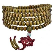Wholesale 20Pcs/lot Men/Women 5mm/6mm Buddhism 216Pcs Wooden Rosary Bodhi Sandalwood Prayer Beads Tibetan Mala Bead Bracelet