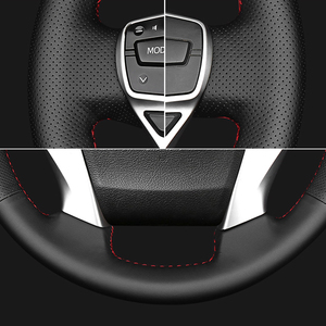Image 4 - Handsewing Black Genuine Leather Steering Wheel Covers For Honda Accord 10 2018 2019 Insight 2019