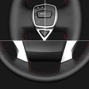 Image 4 - Manevra siyah hakiki deri direksiyon kapakları Suzuki Grand Vitara 2007 2013 için