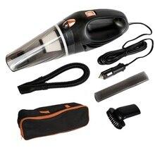 12 в 120 Вт Мощный всасывающий пылесос 4800 ПА ручной для автомобиля Влажный и сухой двойного использования Автомобильная электроника запасной фильтр пылесос