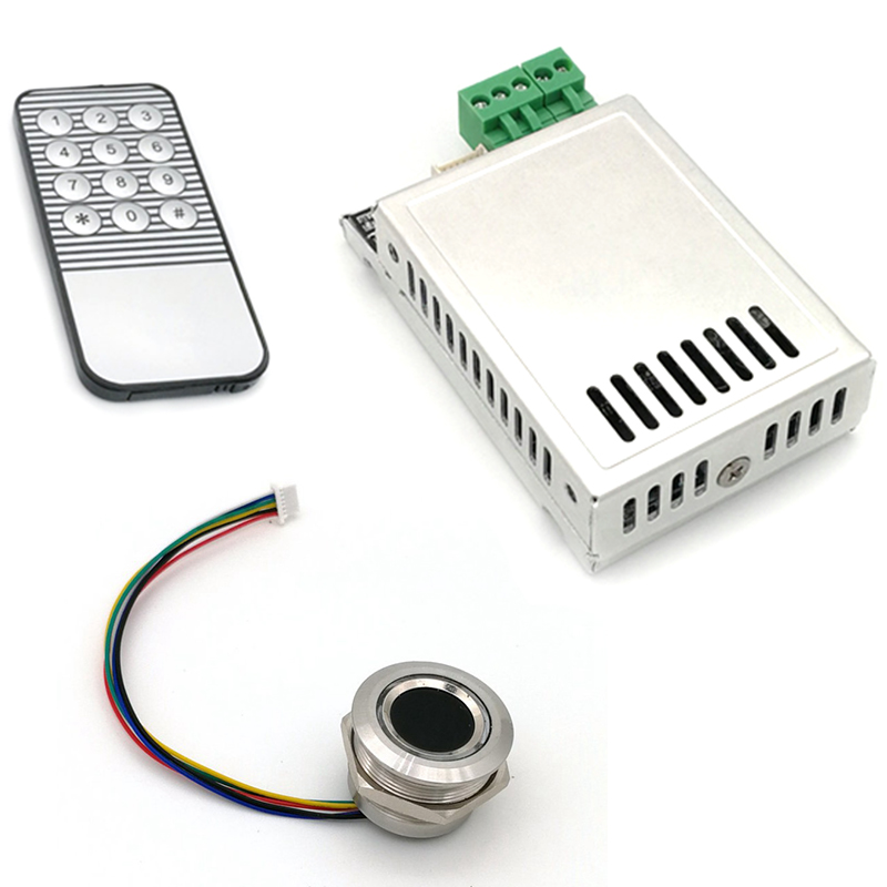 K216 Fingerprint Control Board+R503 Fingerprint Module Two-Color Ring Indicator Light Access Control