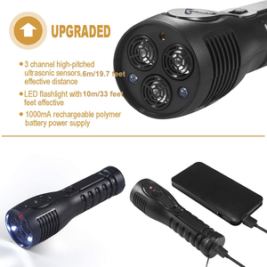 Image 4 - Benepaw Rechargeable Ultrasonic Dog Repellent LED Flashlight Handheld Anti Barking Device Safe Pet Training Aid Good Behavior